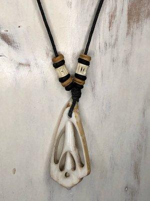 Handmade Collar de conchas multicolor