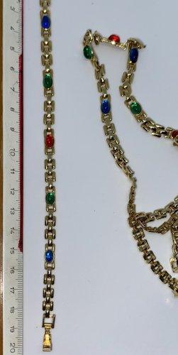 Link Chain multicolored mixture fibre