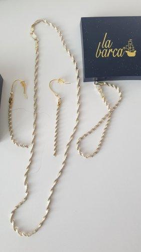 Kette, Armband und Ohrringe von laBarca