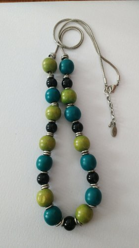 edc by Esprit Necklace multicolored wood