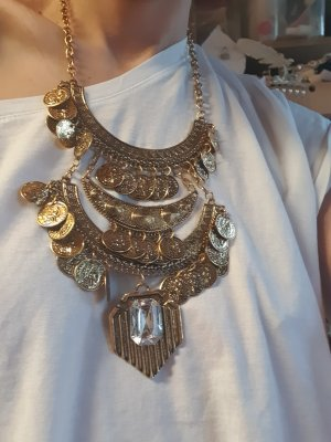 Statement Necklace gold-colored
