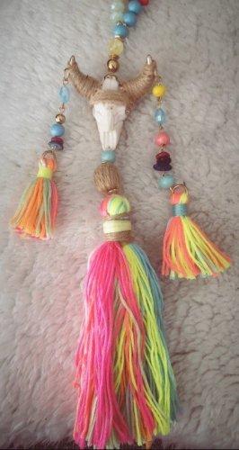 Asos Collar de conchas multicolor