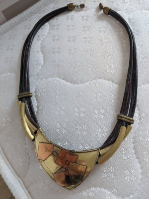 Collier Necklace gold-colored metal