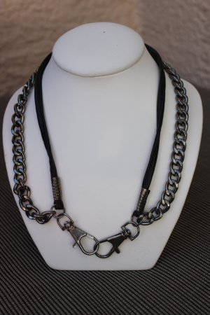 Link Chain multicolored metal