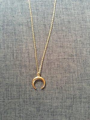 Kette Halskette gold Mond Halbmond Blogger Festival Sommer