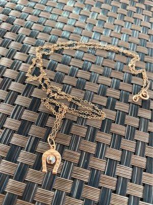 Złoty łańcuch w kolorze różowego złota