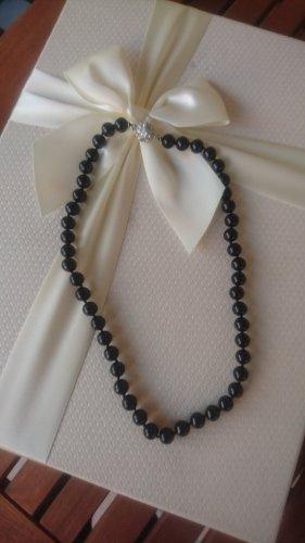 Unbekannte Marke Necklace black-silver-colored