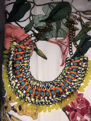 Kette kurz Perlen Sommerkette Blogger Gucci Chanel style