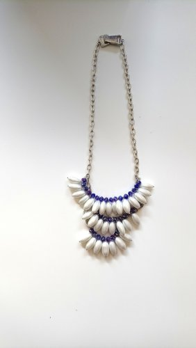Statement Necklace white-lilac