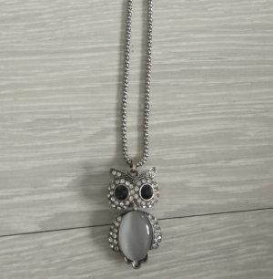 Bijou Brigitte Necklace silver-colored-black metal