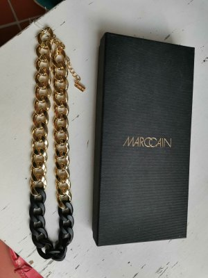 Marc Cain Necklace black-gold-colored