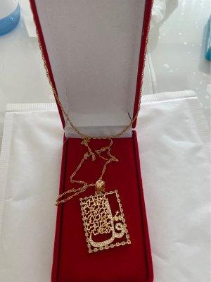 Parure bijoux doré