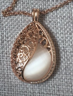 Alfredo Pauly Necklace rose-gold-coloured-white