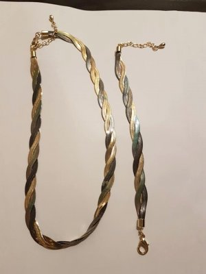 Link Chain gold-colored-silver-colored
