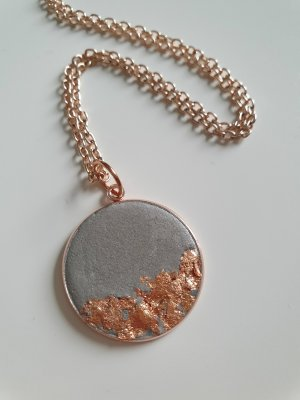 Link Chain rose-gold-coloured-grey