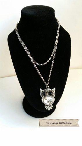Collana argento-nero