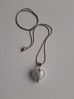 Ketting wit-zilver