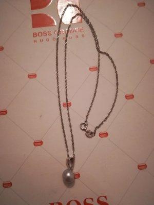 Srebrny łańcuch srebrny-jasnoszary