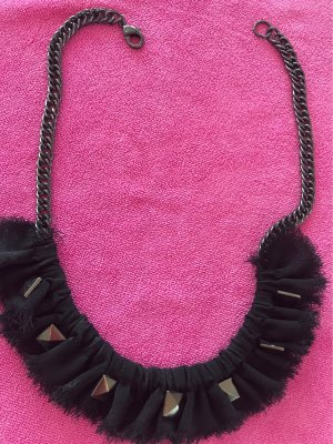0039 Italy Collier Necklace black