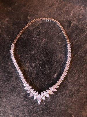 Bijou Brigitte Necklace white-light grey