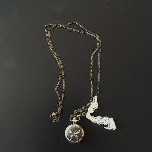 Vintage Necklace sand brown