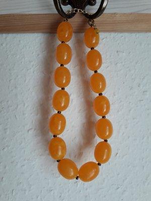 Kette. orange/gelb.