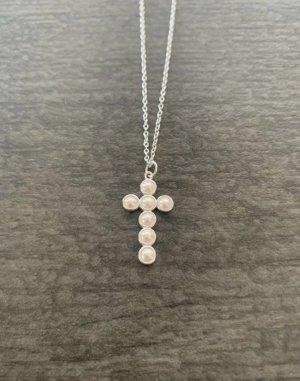 Kette Pearl Cross