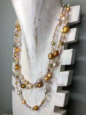 Handmade Collier de perles multicolore