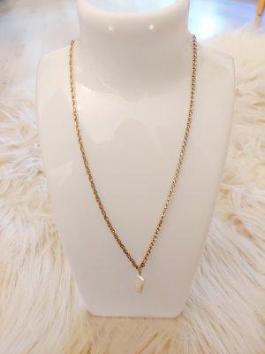 Kette purelei Elua gold Steinchen perle