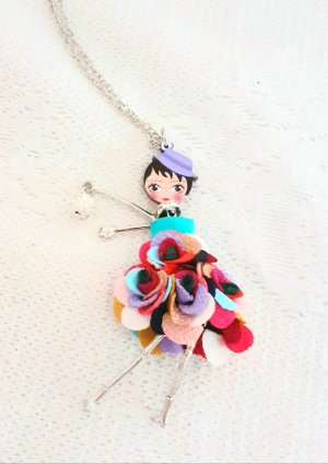 Kenny S. Statement Necklace multicolored