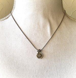 Kette Silber mit Anhänger Vintage Juwelier französischer Stil