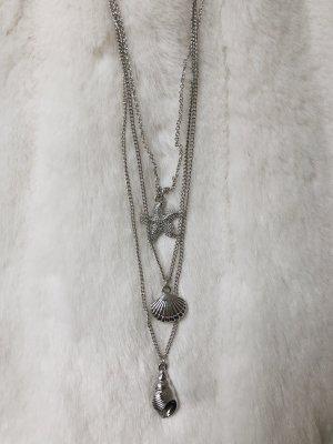 Collana di conchiglie argento