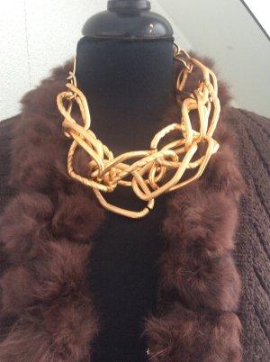 aus Italien Collier Necklace gold-colored