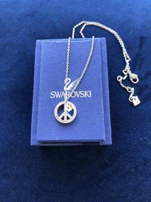Kette Swarovski mit Peace-Zeichen