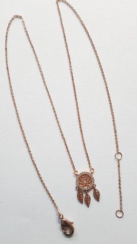 Tchibo / TCM Naszyjnik złoto-różany