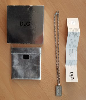 D&G Link Chain silver-colored