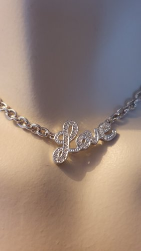 Guess Collar color plata