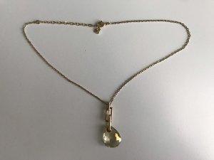 Swarovski Cadena de oro color oro