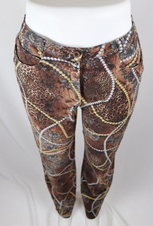 Alba Moda Pantalon strech multicolore tissu mixte
