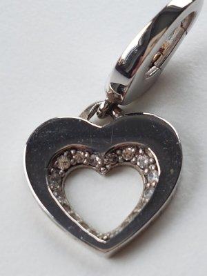 Kettenanhänger Silber 925er mit Svarowski Kristallen