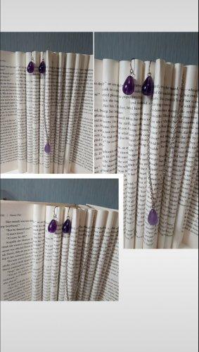 Bijou Brigitte Ketting lila-grijs-paars