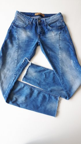 KETU pantalón de cintura baja azul aciano