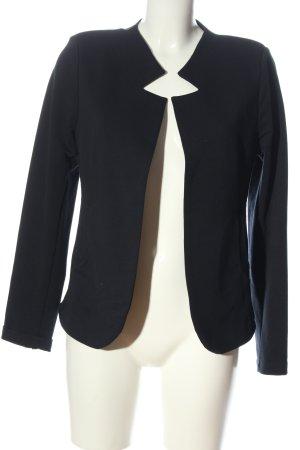 KETU Blazer de tela de sudadera negro estilo «business»