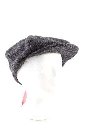 Kevin & Howlin Cappello con visiera grigio chiaro-nero puntinato stile casual