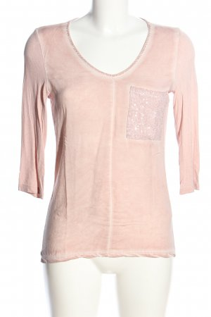 Key Largo Batik Shirt pink casual look