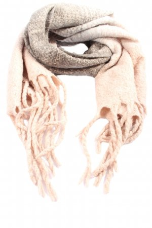 Key Largo Fringed Scarf cream-brown flecked casual look