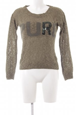 key largo girls Häkelpullover olivgrün Casual-Look
