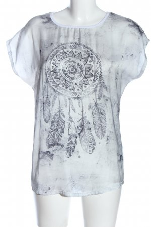key largo girls T-Shirt weiß Motivdruck Casual-Look