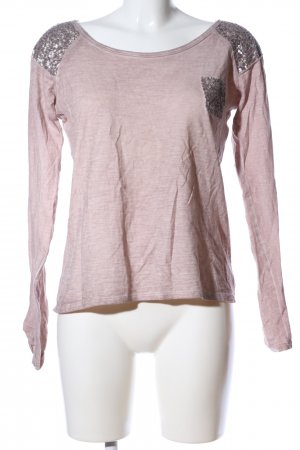 key largo girls Longsleeve wollweiß-pink meliert Casual-Look