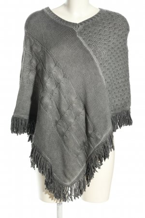key largo girls Poncho hellgrau Casual-Look